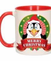 Vergelijk kerstmis mok beker pinguin 300 ml prijs