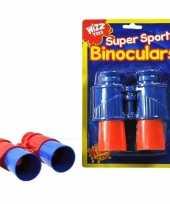 Vergelijk kinder verrekijker rood blauw 13 cm prijs
