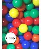 Vergelijk kleurige ballenbak ballen 2000 stuks prijs