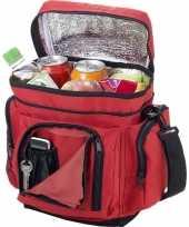 Vergelijk koelbox koeltas rood voor blikjes lunch prijs