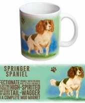 Vergelijk koffie beker springer spaniel hond prijs