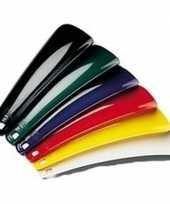Vergelijk kunststof schoenenlepel zwart 15 cm prijs