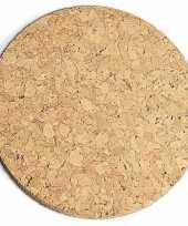 Vergelijk kurk pannen onderzetter 20 cm prijs