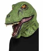 Vergelijk latex dinosaurus masker voor volwassenen prijs
