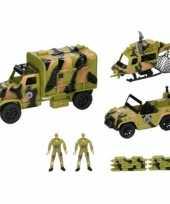 Vergelijk leger speelgoed 8 delig prijs