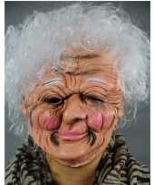 Vergelijk luxe oma masker van latex prijs