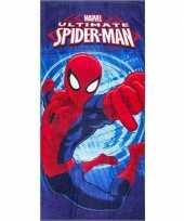 Vergelijk marvel badlaken spiderman blauw 70 x 140 cm prijs