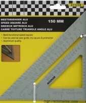 Vergelijk meetgereedschap meetdriehoek van aluminium 150 mm prijs