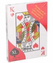Vergelijk mega kaartspel 28 x 20 cm prijs