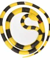 Vergelijk mega rubberen dieren python 137 cm prijs 10140373