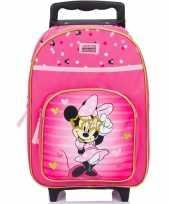 Vergelijk minnie mouse koffer op wieltjes 38 cm voor kinderen prijs