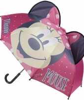 Vergelijk minnie mouse oren kinderparaplu roze voor meisjes prijs