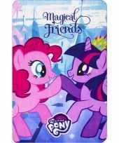 Vergelijk my little pony fleece bankdeken voor meisjes prijs