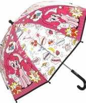 Vergelijk my little pony kleine paraplu roze 45 cm voor kinderen prijs