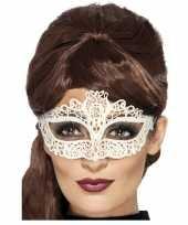 Vergelijk mysterieus oogmasker wit voor dames prijs