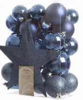 Vergelijk mystic christmas kerstboom decoratie set 33 delig prijs 10097513