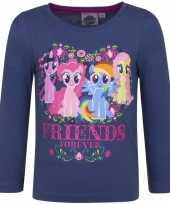 Vergelijk navy blauwe my little pony shirt voor kinderen prijs