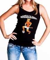 Vergelijk nederlands dames elftal supporter hemd leeuwinnen roooaaaarrr hemd zwart voor dames prijs