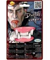 Vergelijk nep gebit met vampier tanden boven en onder tanden prijs