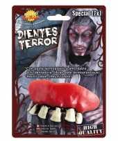 Vergelijk nep gebit met zombie tanden prijs