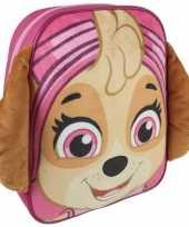 Vergelijk paw patrol rugzak rugtas 23 x 28 cm skye schooltas gymtas voor kinderen prijs