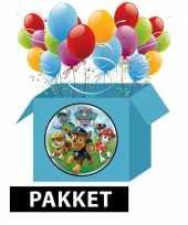 Vergelijk paw patrol versieringspakket voor kinderfeestjes prijs
