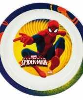 Vergelijk peuterbordje spiderman prijs