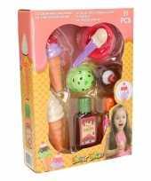 Vergelijk plastic speelset ijsjes 11 stuks prijs