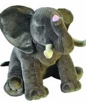 Vergelijk pluche grote olifant dierenknuffel 70 cm prijs