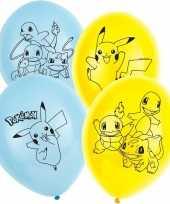 Vergelijk pokemon ballonnen 6 stuks prijs