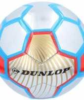 Vergelijk professionele voetbal rood zilver blauw 23 cm prijs
