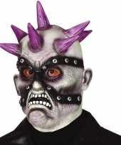 Vergelijk punk zombie horror halloween masker van latex prijs