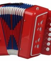 Vergelijk rode accordeon prijs