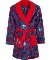 Vergelijk rode blauw cars badjas voor jongens prijs