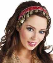 Vergelijk rode verkleed feest buikdanseressen hoofdband diadeem voor dames volwassenen prijs