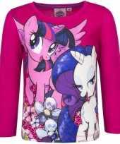 Vergelijk roze my little pony shirt voor kinderen prijs