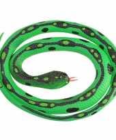 Vergelijk rubberen dieren gras slangen 117 cm prijs