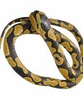 Vergelijk rubberen dieren koningspython mega slang 183 cm prijs