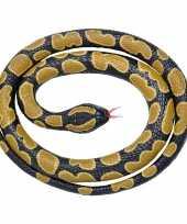 Vergelijk rubberen dieren koningspython slang 117 cm prijs