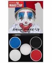 Vergelijk schmink palet clown 5 kleuren prijs