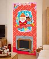 Vergelijk sinterklaas wanddecoratie poster 80 x 180 cm prijs