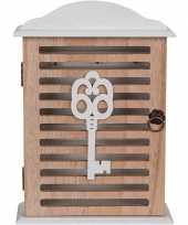Vergelijk sleutels opbergen kastje 19 x 28 cm landelijke stijl prijs