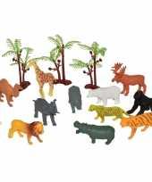 Vergelijk speelemmer met mini figuurtjes afrikaanse dieren prijs