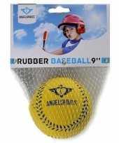 Vergelijk speelgoed honkbal geel 7 cm prijs