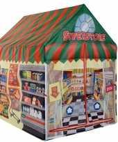 Vergelijk speelgoed speeltent supermarkt winkel 102 cm prijs