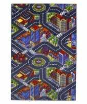 Vergelijk speelkleed stad met wegen 100 x 165 cm prijs