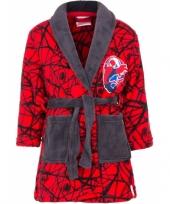 Vergelijk spiderman badjas rood prijs