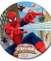Vergelijk spiderman kinderfeest bordjes 16 stuks prijs