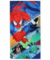 Vergelijk spiderman strandlaken 70 x 140 cm prijs