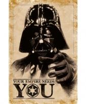 Vergelijk star wars maxi poster darth vader prijs